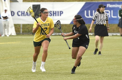World Lacrosse Nominates WA's Madison Copeland as the World Games Athlete of the Year 2019